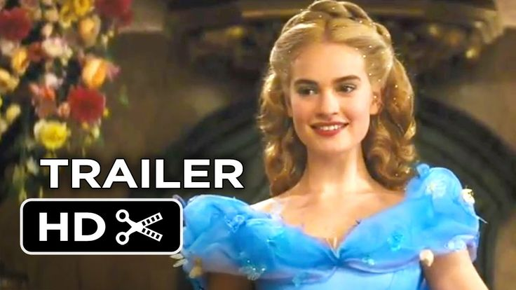Watch Disney's #Cindrella 2015 official US #trailer