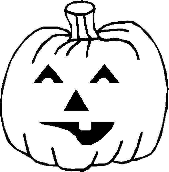 Kleurplaat halloween pompoenen 40