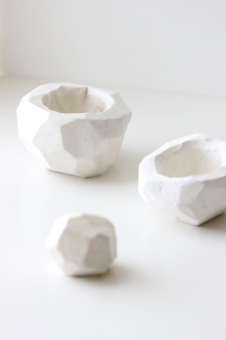 DIY Geometric Clay Pot Tutorial