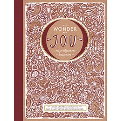 Het wonder van jou en je biljoenen bewoners - Jan Paul Schutten (2015). Een mooi informatief verhalend boek over je lichaam van de schrijver van het Gouden Griffel boek : Het raadsel van alles wat leeft. Die past overigens ook prachtig bij dit bord.
