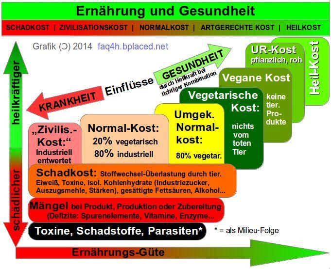 Krank durch Lebensmittel: Milch, Kohlenhydrate, Fleisch, tierisches Eiweiß