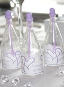 Everyone loves wedding bubbles. Get them in coloured varieties like these to really enhance your colour scheme