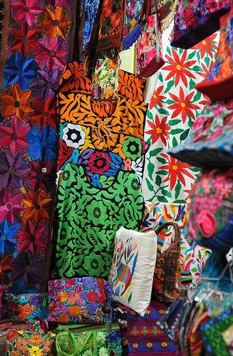 Oaxaca Market Mexico