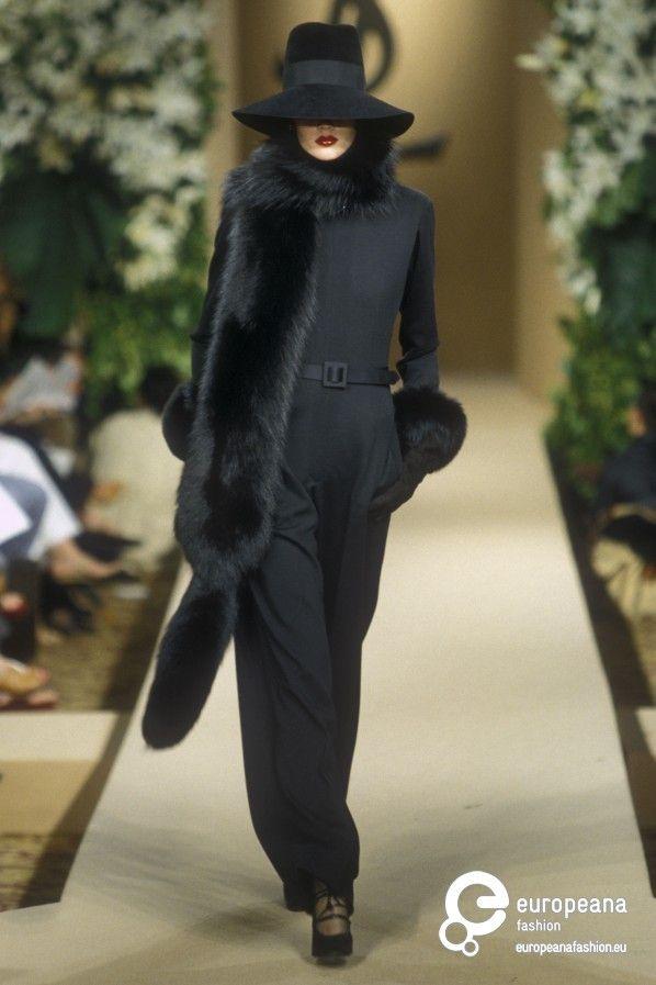 Yves Saint Laurent, Autumn-Winter 2000, Couture