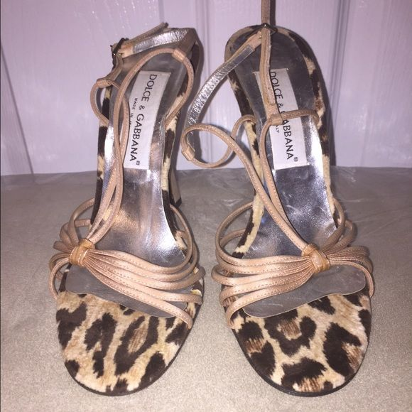 "Dolce & Gabbana Cheetah Heels 8 / 38 Super cute brand new cheetah heels size 38 by Dolce & Gabbana. Heel is approx 4"" tall but in total approx 5.5"" in height. Dolce & Gabbana Shoes Heels"
