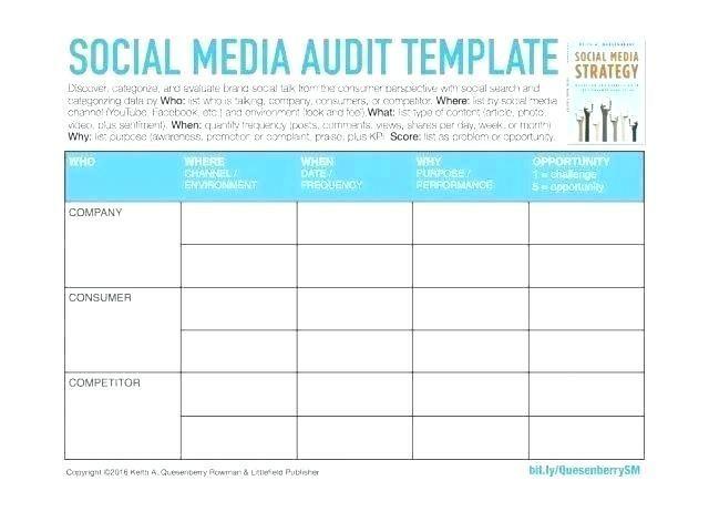 28 Social Media Audit Template Social Media Report Template Social Media Audit Template Social Media Audit Social Media Report
