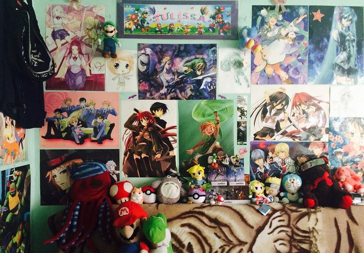 Shared by z3ld3rp #gameandwatch #microhobbit (o) http://ift.tt/1p1oCsG wall XD I know I still need a lot more stuff but this will do for now! I'm not into anime like that anymore but I still keep the posters up reminds me of my little weeb self and my sucky drawings lol c: #nintendo #anime #posters #mario #yoshi #amiibo #captainfalcon #captain #falcon #zss #zelda #luigi #rob  #duckhunt #pokeball #masterball #loz #legend #of #zelda #legendofzelda #totoro #doraemon