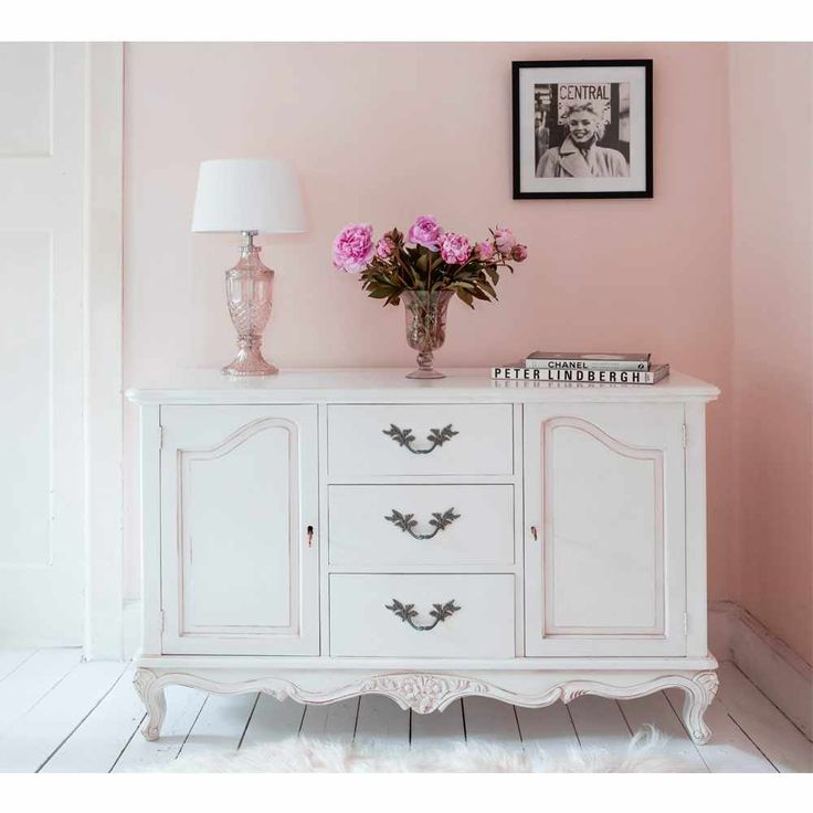 Provencal Sideboard Cabinet - French Bedroom Sideboard