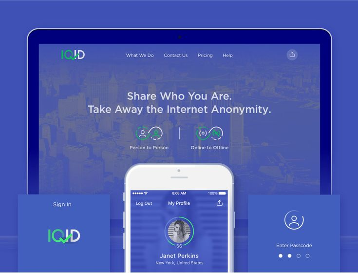 "Check out this @Behance project: ""IQID"" https://www.behance.net/gallery/43137357/IQID"
