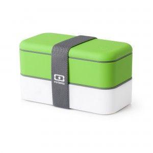 Ланч бокс monbento original зелёного цвета — Бенто Бокс