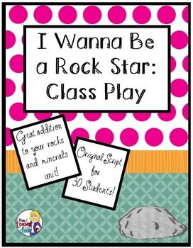 This 8 page play is filled with excellent scientific information about rocks and minerals, including sedimentary, igneous, and metamorphic types, fossils, Moh's Scale of Hardness and more. Even better, it is one that's fun! $
