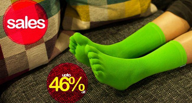 Take a look at our sales page! Save 46% #TOETOE #TOETOESOCKS #HappySocks #SocksUK #Sales
