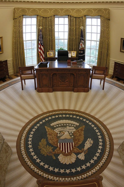 News media outlets were given tours of the new George W. Bush Presidential Library and Museum in Dallas, Texas