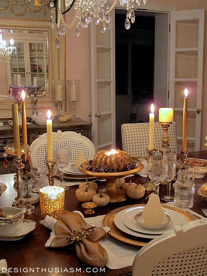 A ROMANTIC THANKSGIVING DINNER FOR TWO