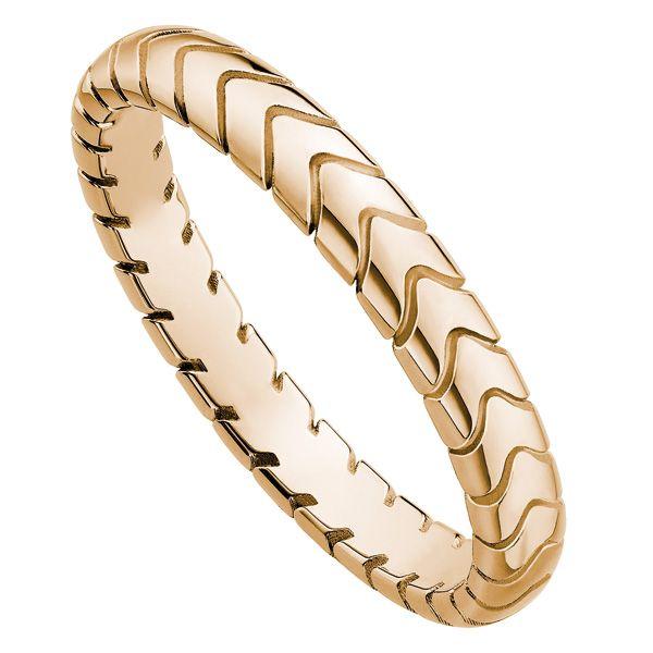 スピガ(Spiga) ピンクゴールド - BVLGARI(ブルガリ)の結婚指輪(マリッジリング)ゴールドのエンゲージリング・婚約指輪一覧❤