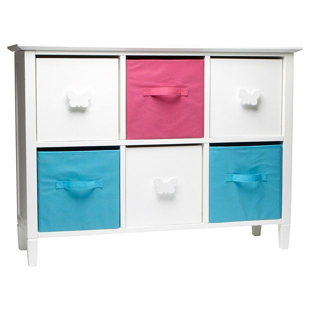 Butterfly 6 Cube Storage Unit