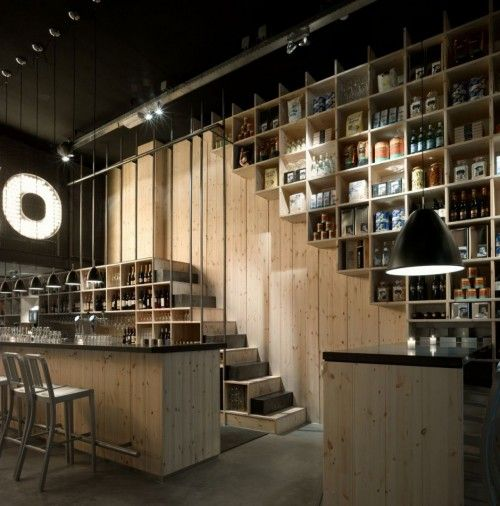 Interior for Mazzo, a new restaurant in Amsterdam by Concrete Architectural Associates.