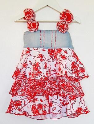 Baby Gassy Gooma Girls Rose Dress from Ebay Store Bambini Magic