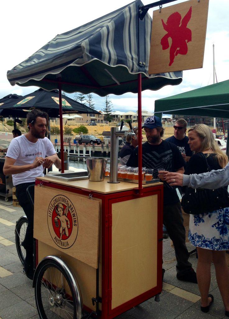 Mindarie Boardwalk Beerfest: Little Creatures Beer Bike
