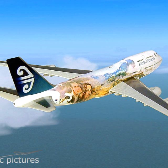 Air New Zealand!!!! Lord of the Rings :) I LOVE this! :D