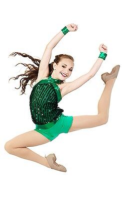 Maddie modeling for Creations By Cicci's 2015 dance costume catalog