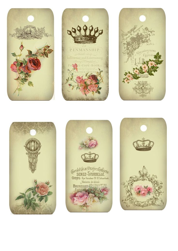 Free Printables~ Tags.  The site has beautiful inspiring art. I can see using these tags for other things as well.