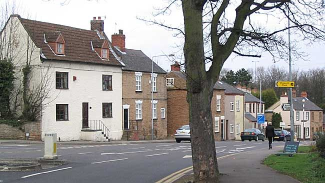 18th and 19th century cottages in Nuthall