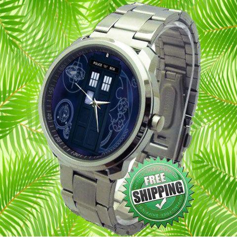 Doctor Who Tardis Sport Watch by lakonmenang on Etsy, $15.00