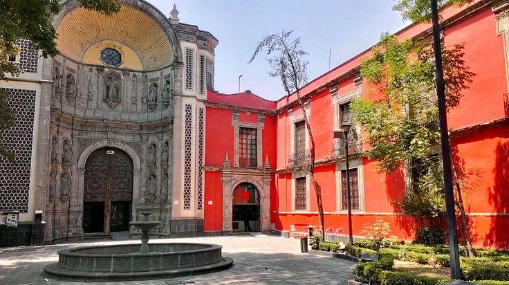 Мексика, Мехико: Torre Latinoamericana и западная часть Centro Historico (Исторический Центр)