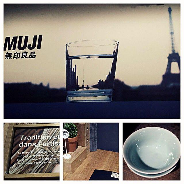 #Muji L'enseigne installée dans son flagship parisien au @forumdeshalles offre une sélection d'articles aux lignes minimalistes un vrai coup de coeur #PDW15 !  #PDW15 #TEAM14SPIN #TEAM14SINS #team14stw  #Japan