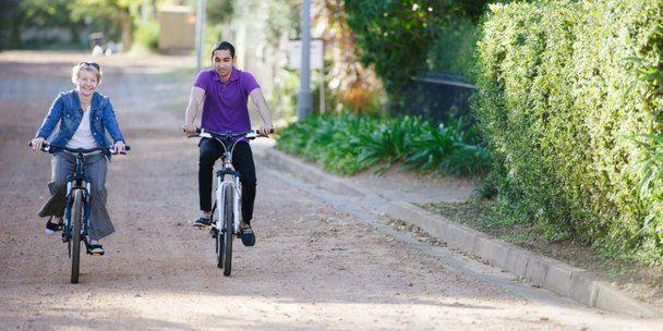 Hop on your bike