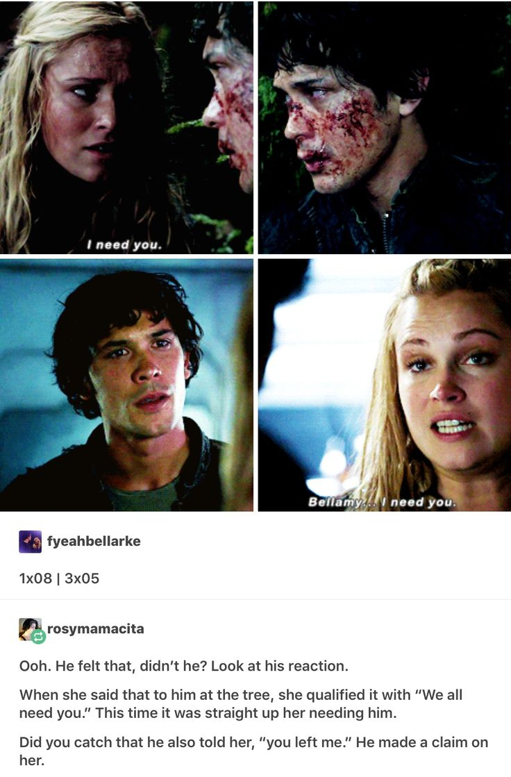 """she might """"need"""" Bellamy, but she wanted Lexa......................I will forever ship Clexa even after what happened to Lexa. Death is not their end."""