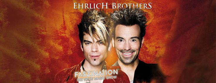 Die Zauberer #EhrlichBrothers gastieren am 11. Mai 2017 im Hallenstadion Zürich. Tickets: http://www.ticketcorner.ch/ehrlich-brothers