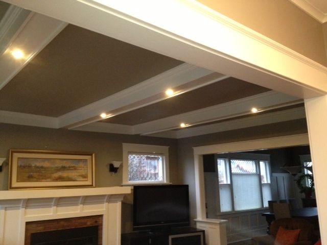 49 best arch ceiling coffered images on pinterest for Arched ceiling beams