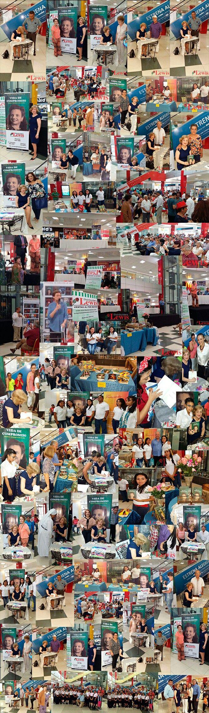 El sábado 11 de marzo de 2017 en el Mall Paseo Central en Chitré Rose Marie Tapia presentó su novela más reciente Vida de compromiso, semblanza de la maestra Rosa R. de Tapia 1915-1986. La familia Tapia Rodriguez agradece las muestras de solidaridad.