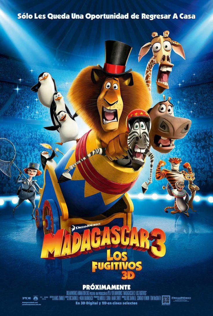 Pin De Maah En Cine Madagascar 3 Peliculas Infantiles De Disney Pelicula Madagascar