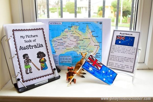 The Pinay Homeschooler: 5 Activities to Learn about Australia