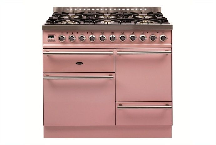 Image result for pink range cooker