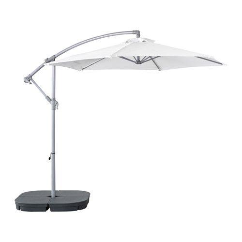BAGGÖN Umbrella, hanging, white 98 3/8 $69