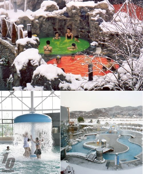 Hot Springs in South Korea
