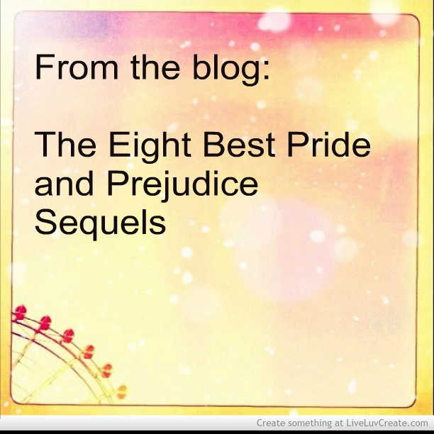 pride and prejudice sequels pdf