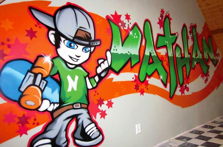 Styletrip Graffiti   Voertuigen   Muurschilderingen   Kinderkamers   Demo's   Workshops