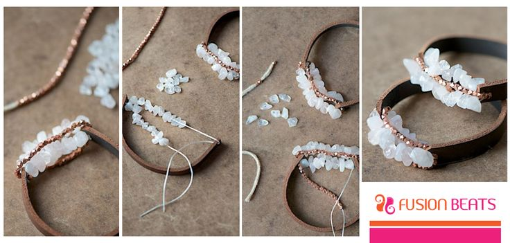 Make this perfect boho accessory to add charm to your look in few simple ways