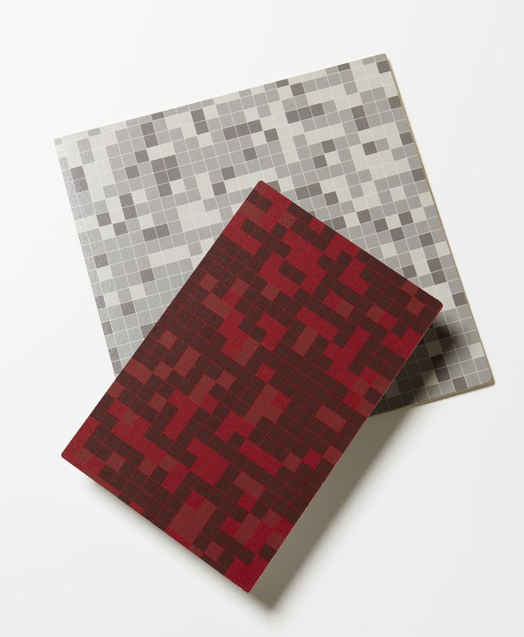 Random by PLD Studio in Red and Gray #design #laminate