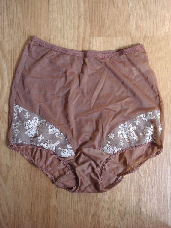 Vintage 1970s Vanity Fair Panties Granny Sissy by bycinbyhand