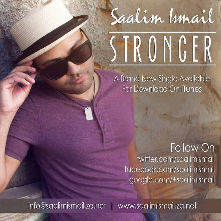 Get your copy of #Stronger on #itunes #amazon and other popular online retailers worldwide!... ☺  #music #inspirational #empowerment #meaning #relationships #heartbreak #story #capetown #southafrica #worldwide #pop #alternative #rock