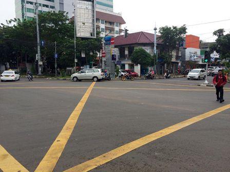 32 Persimpangan akan Dibuat Yellow Box Junction