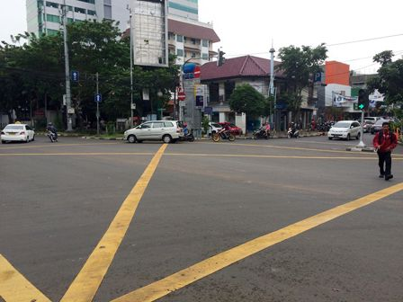 32 Persimpangan akan Dibuat Yellow Box Junction