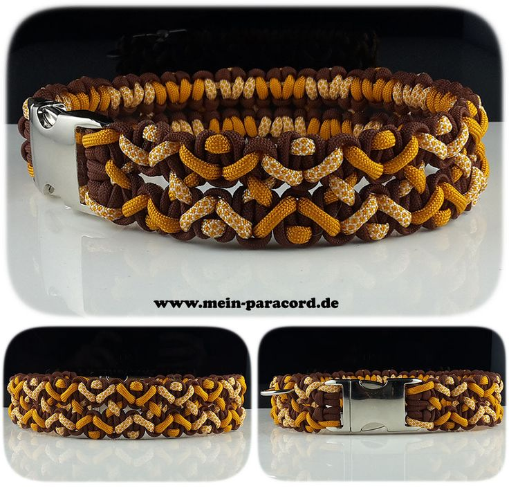 "Paracord Halsband ""Big Wave"". www.mein-paracord.de"