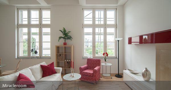 Helles und luftiges Wohnzimmer